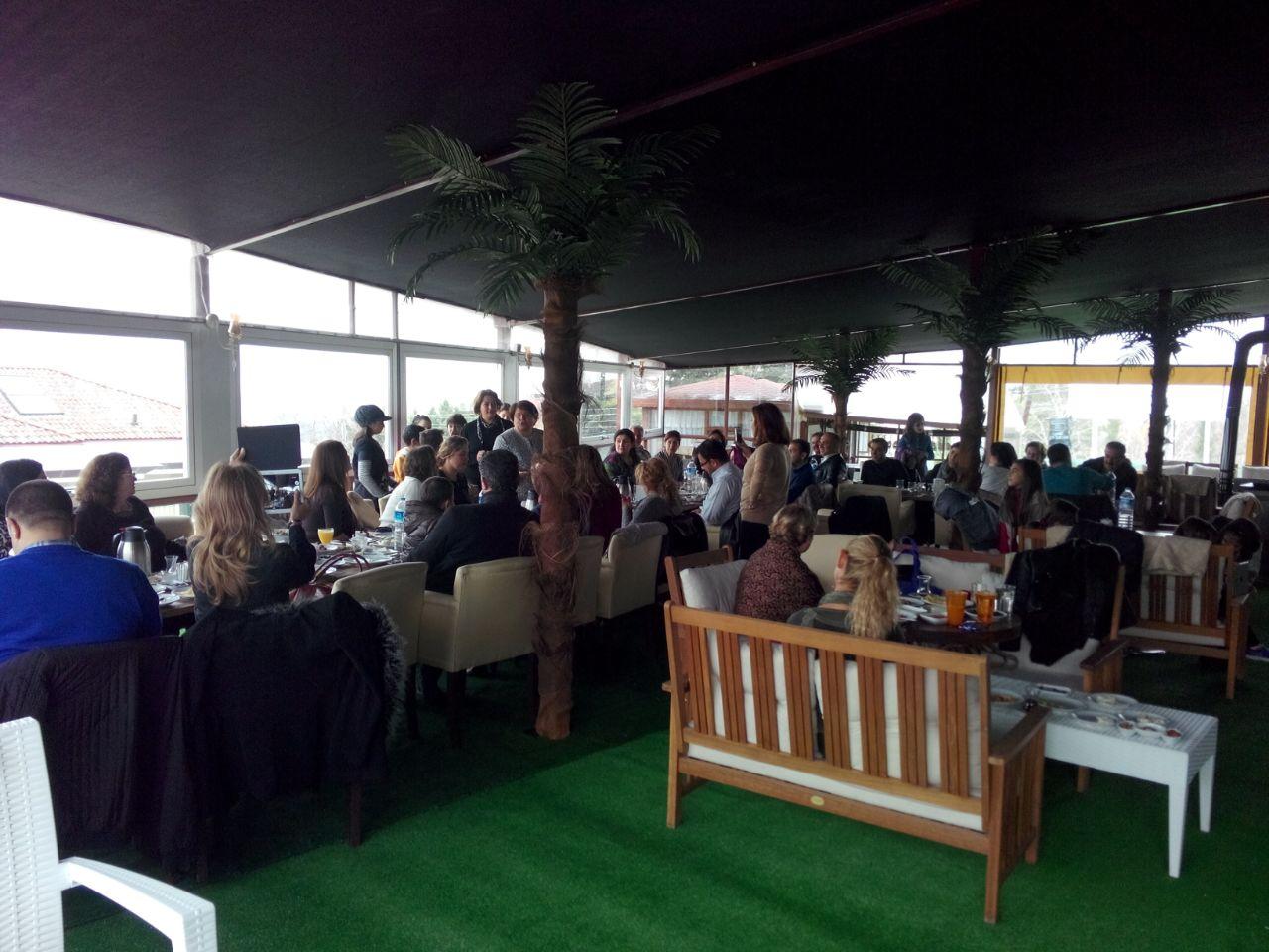 Diltaş'ın öğrenci ve velileri Best Season's Cafe'de